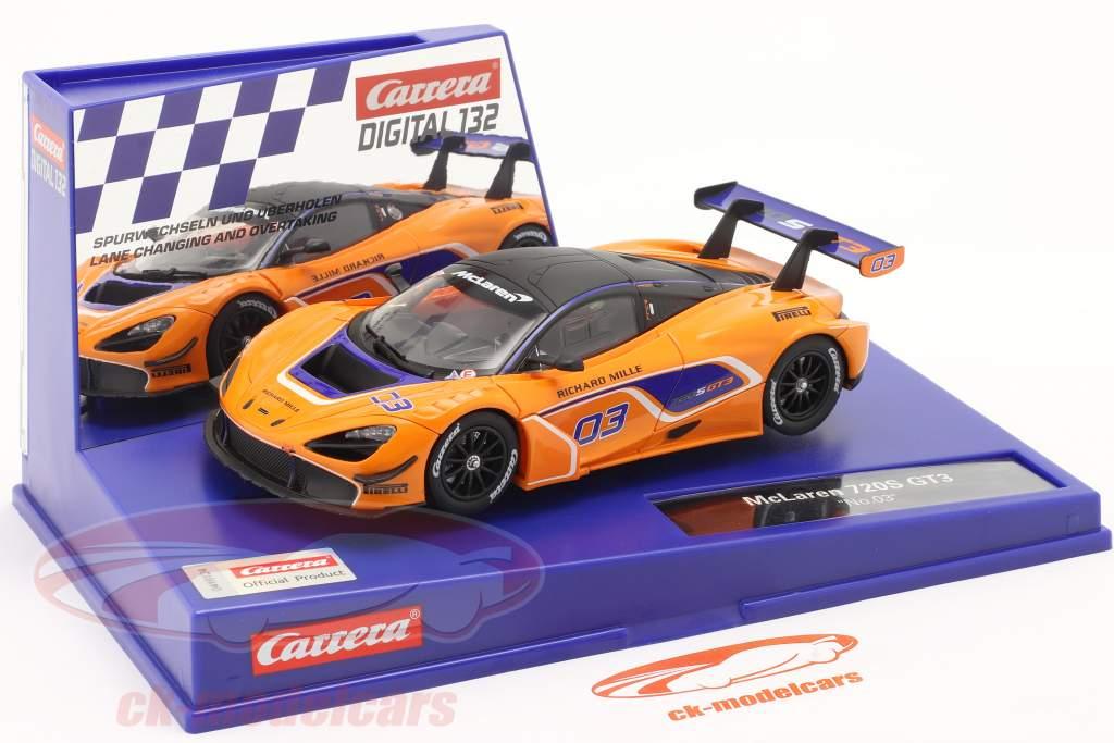 Digital 132 SlotCar McLaren 720S GT3 #03 McLaren Motorsport 1:32 Carrera