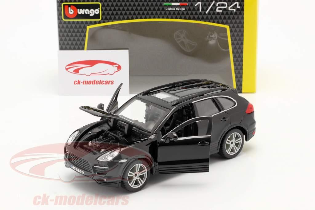 Porsche Cayenne Turbo nero 1:24 Bburago