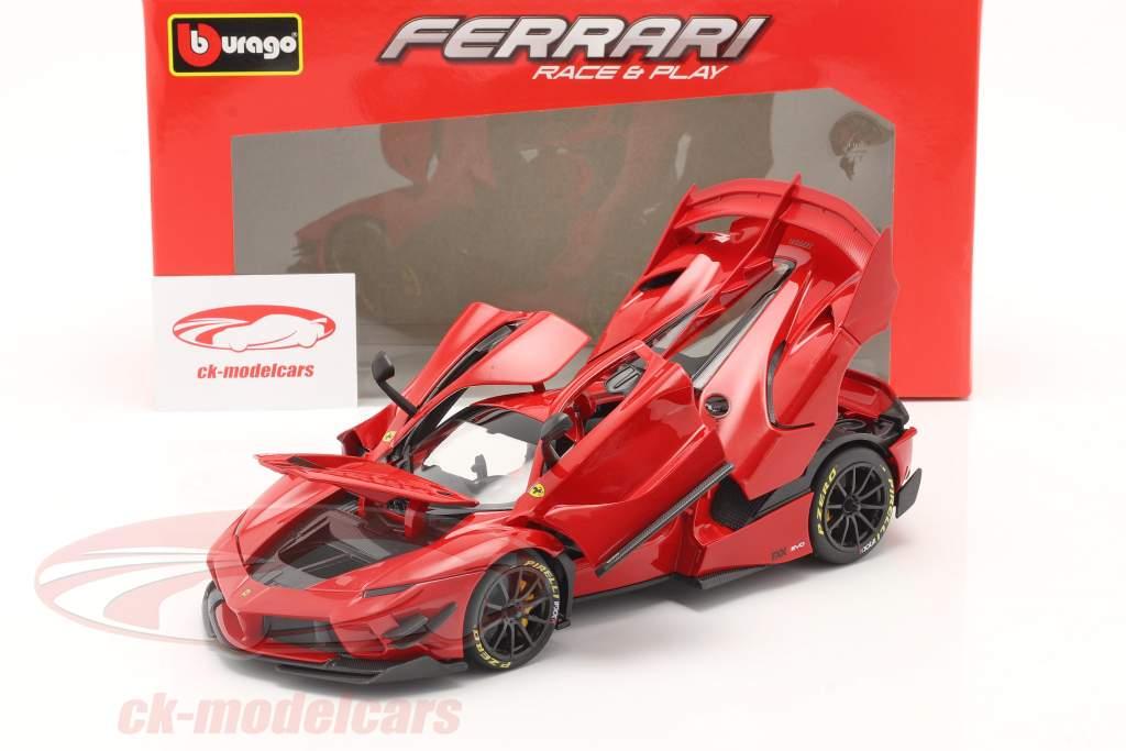 Ferrari FXX-K Evo Hybrid 6.3 V12 year 2018 red 1:18 Bburago
