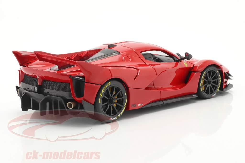 Ferrari FXX-K Evo Hybrid 6.3 V12 Ano de construção 2018 vermelho 1:18 Bburago