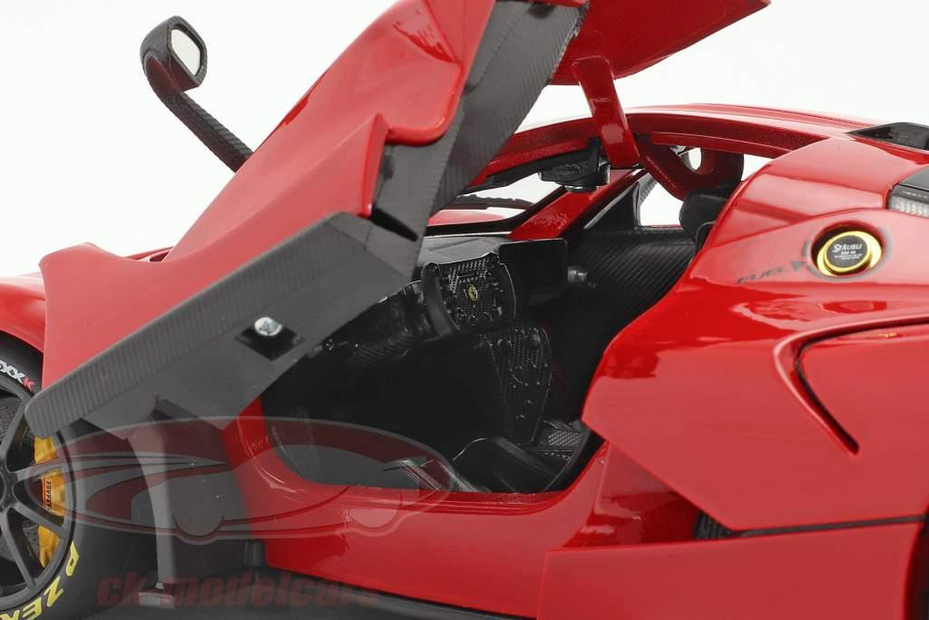 Ferrari FXX-K Evo Hybrid 6.3 V12 Byggeår 2018 rød 1:18 Bburago