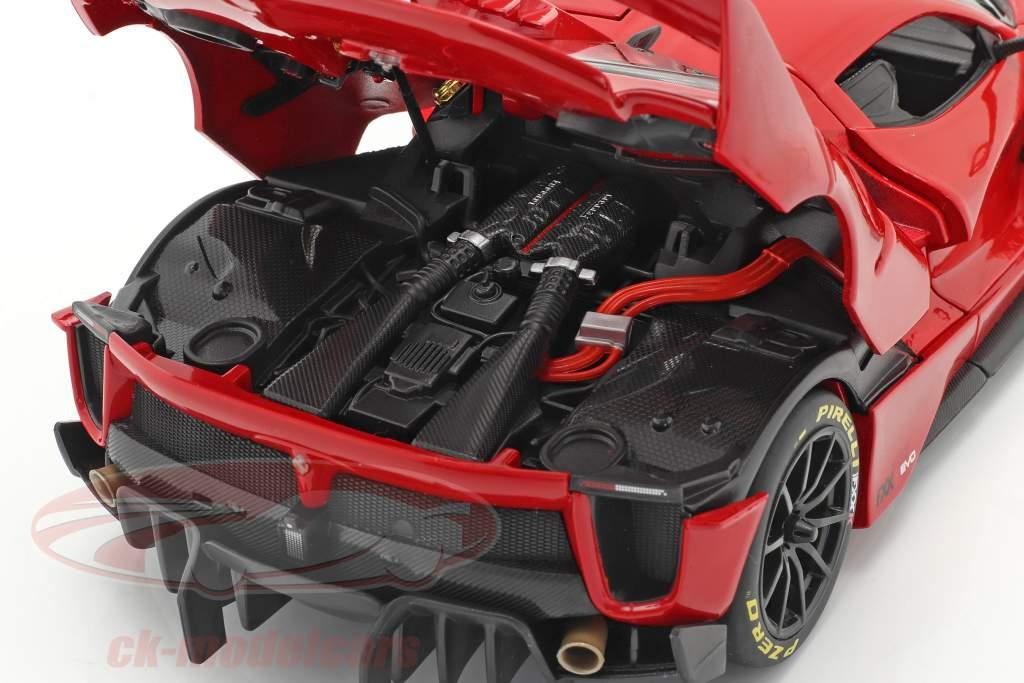 Ferrari FXX-K Evo Hybrid 6.3 V12 bouwjaar 2018 rood 1:18 Bburago