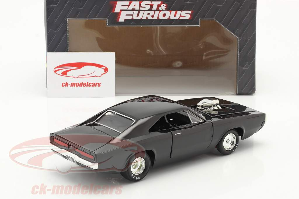 Dom's Dodge Charger 1970 Fast & Furious 9 (2021) nero 1:24 Jada Toys