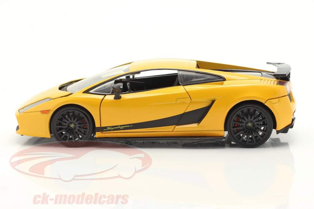 Lamborghini Gallardo Superleggera Fast & Furious 6 (2013) amarillo 1:24 Jada Juguetes