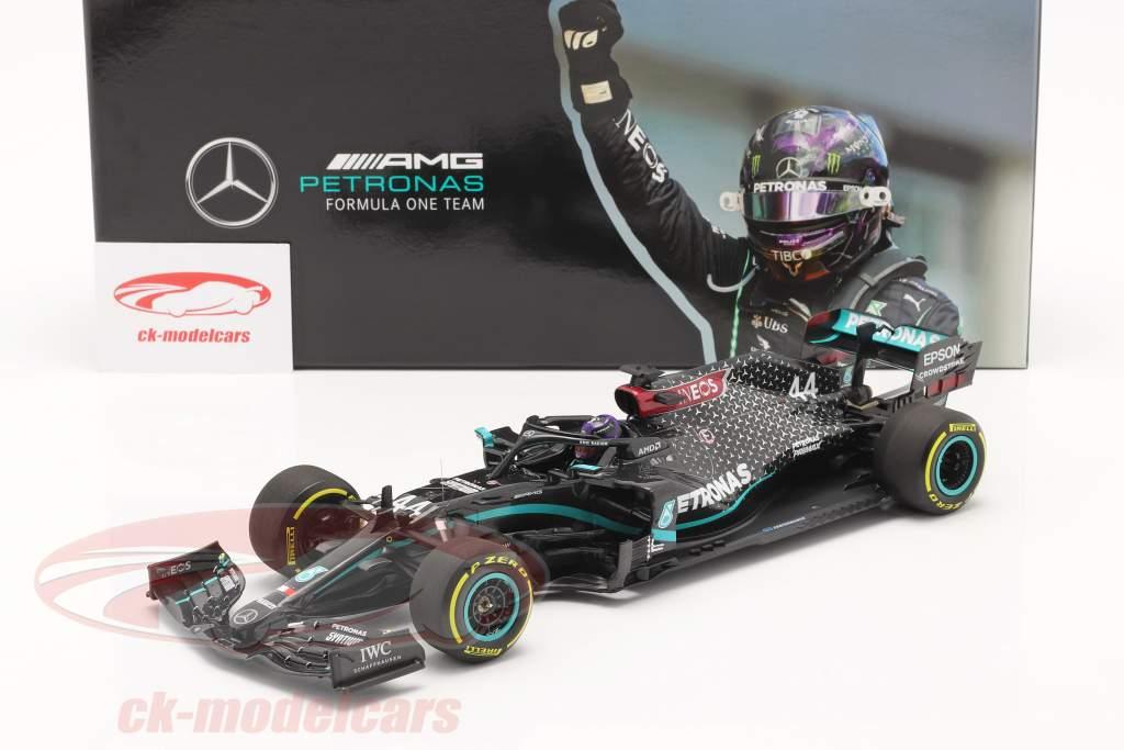 L. Hamilton Mercedes-AMG F1 W11 #44 Vencedora Da Estíria GP Fórmula 1 Campeão mundial 2020 1:18 Minichamps
