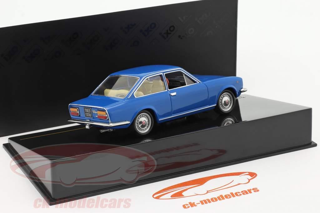 Fiat 124 Coupe Byggeår 1971 blå 1:43 ixo