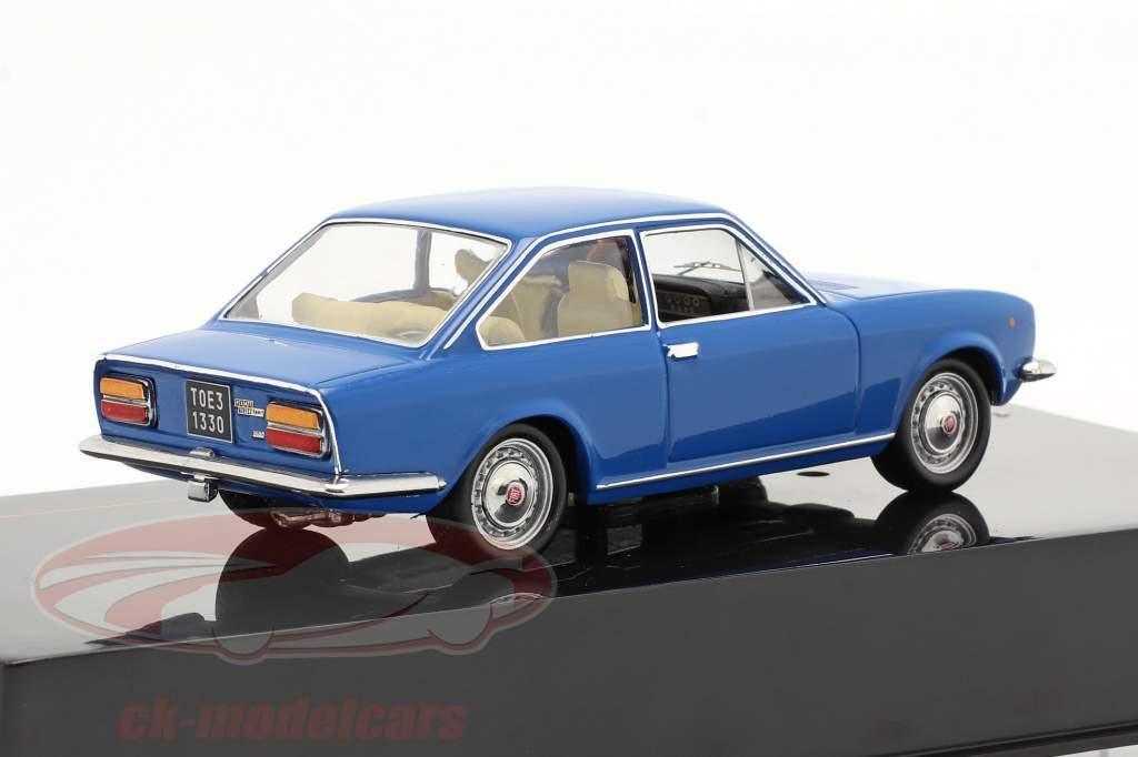 Fiat 124 Coupe Année de construction 1971 bleu 1:43 ixo