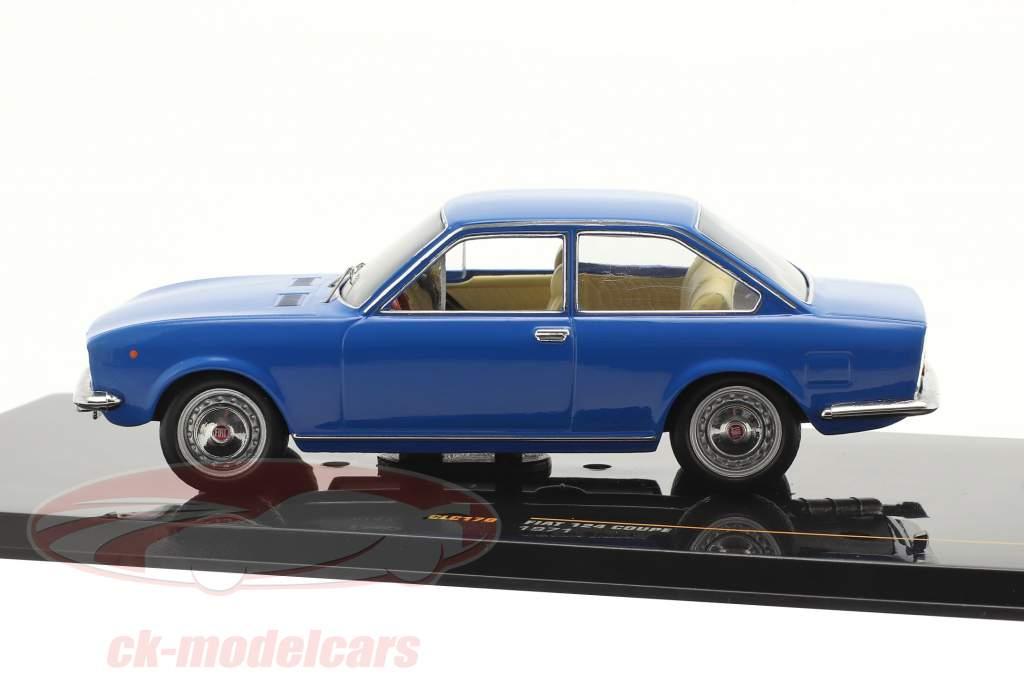 Fiat 124 Coupe Baujahr 1971 blau 1:43 ixo