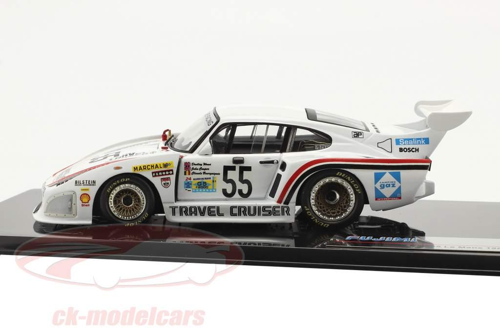 Porsche 935 K3 #55 Klasse Vinder Gr. 5 24h LeMans 1981 1:43 Fujimi