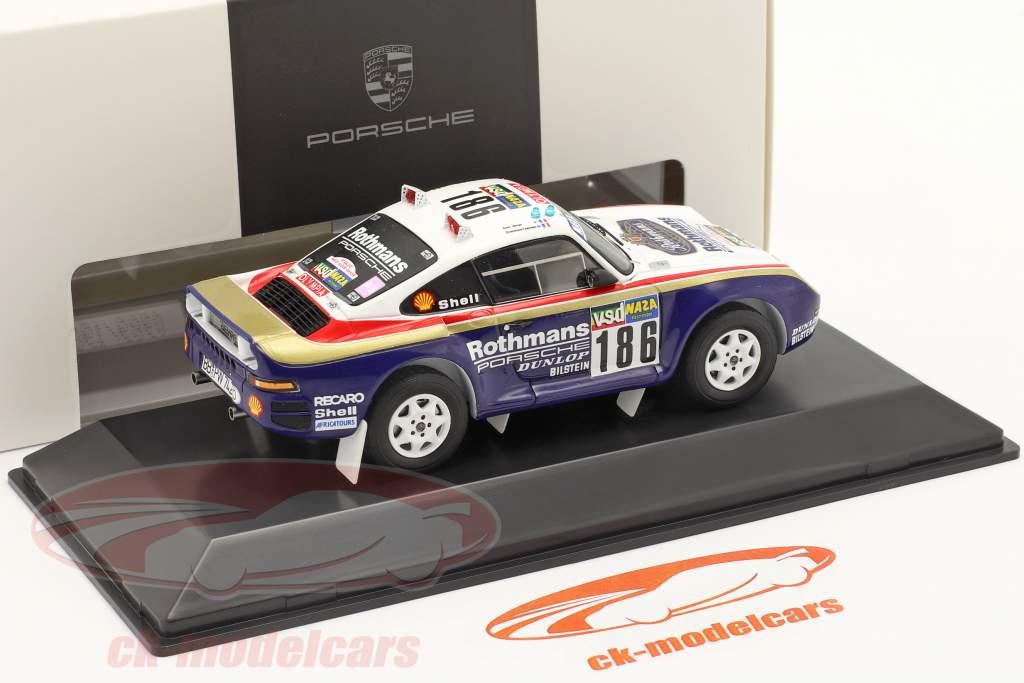 Porsche 959 #186 Sieger Rallye Paris - Dakar 1986 Metge, Lemoyne 1:43 Spark