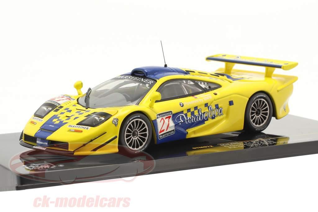 McLaren F1 GTR #27 Sexto FIA GT Championship Spa 1997 Goodwin, Ayles 1:43 Ixo
