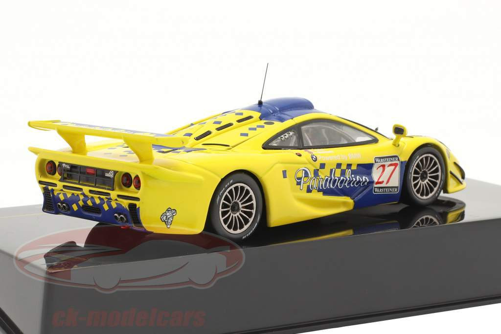 McLaren F1 GTR #27 6e FIA GT Championship Spa 1997 Goodwin, Ayles 1:43 Ixo