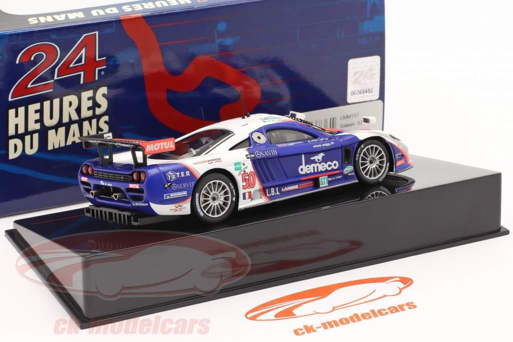 Saleen S7R #50 24h LeMans 2008 Bouchut, Bornhauser, Smet 1:43 Ixo