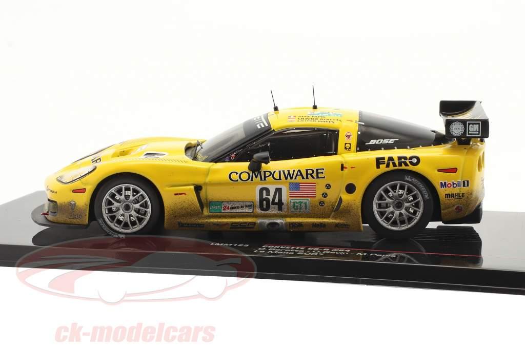 Corvette C6-R #64 24h LeMans 2007 Beretta, Gavin, Papis 1:43 Ixo