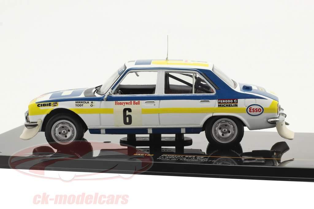 Peugeot 504 #6 Sieger Rally du Maroc 1975 Mikkola, Todt 1:43 Ixo