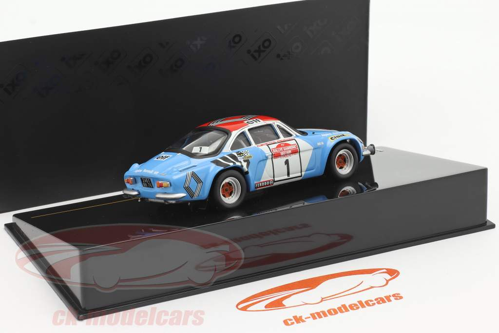 Alpine Renault A110 1800 #1 Sieger Rallye SanRemo 1973 1:43 Ixo