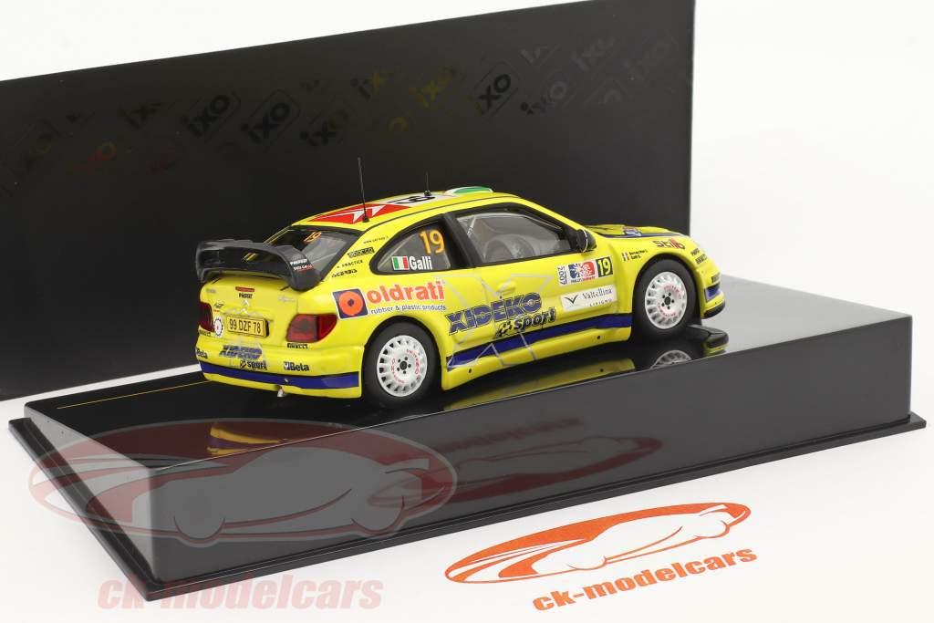 Citroen Xsara WRC #19 6th Rallye Norwegen 2007 Galli, Bernacchini 1:43 Ixo