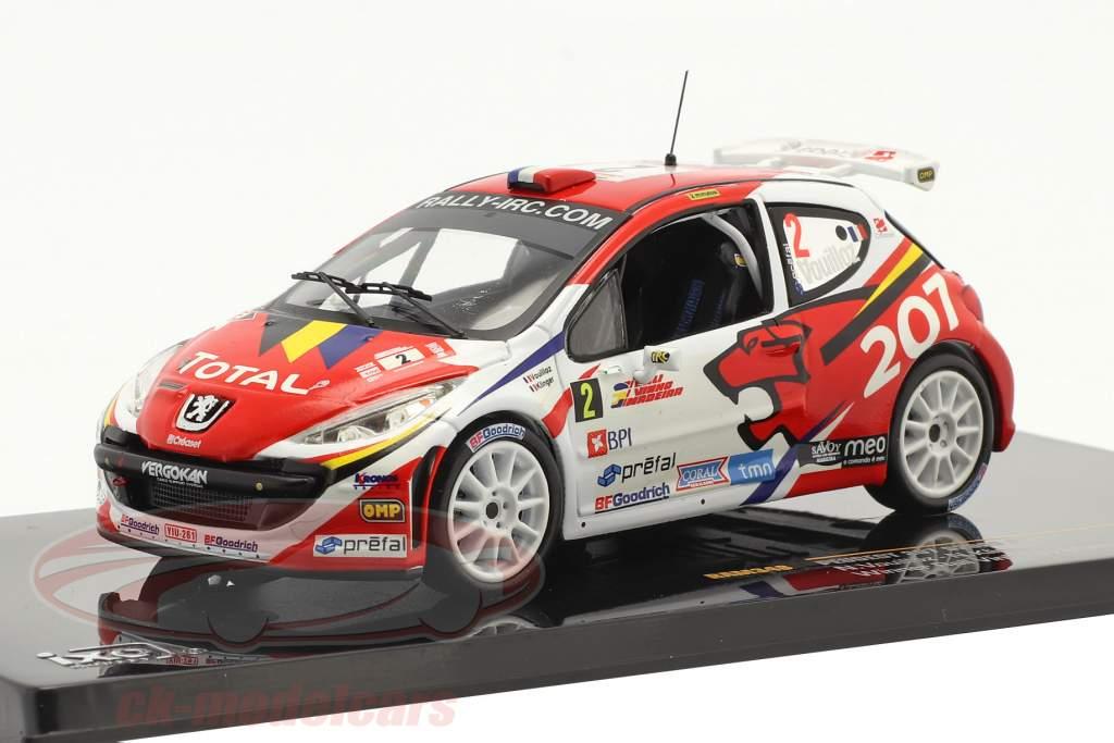 Peugeot 207 S2000 #2 ganador reunión Vinho da Madeira 2008 1:43 Ixo