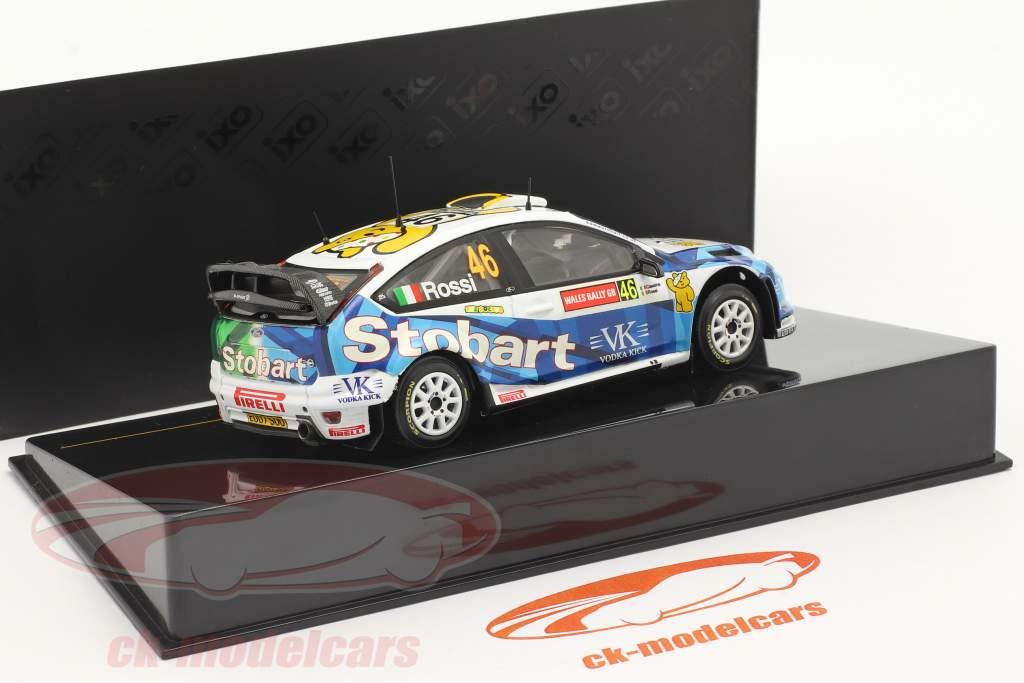 Ford Focus RS WRC #46 Wales GB samle 2008 Rossi, Cassina 1:43 Ixo