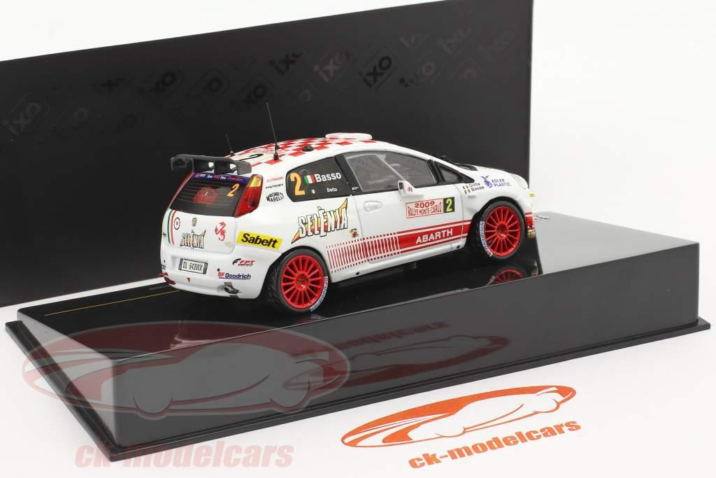 Fiat Punto S2000 #2 Quinto Rallye Monte Carlo 2009 Basso, Dotta 1:43 Ixo