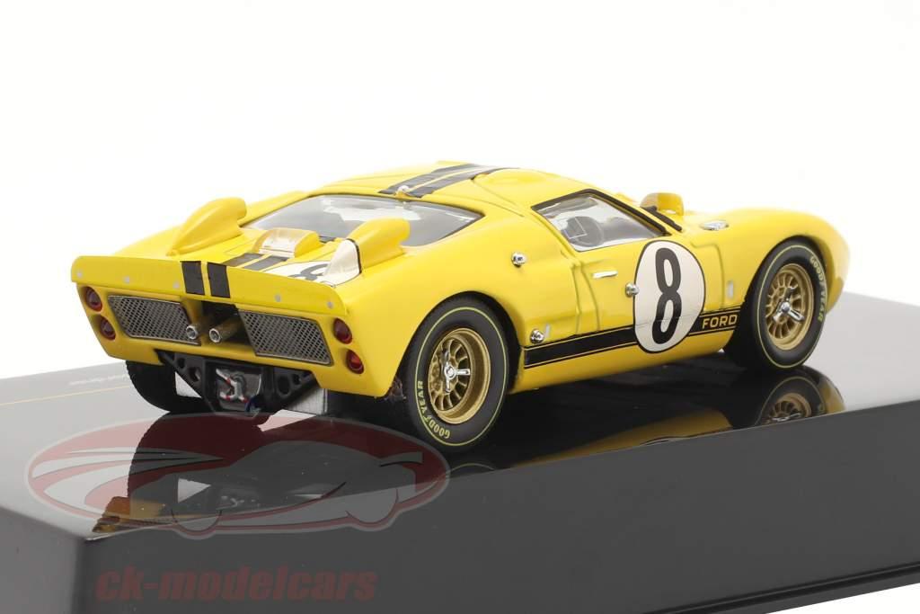 Ford GT40 Mk II N° 8 Gardner 24h LeMans 1966 Whitemore, Gardner Ixo 1:43