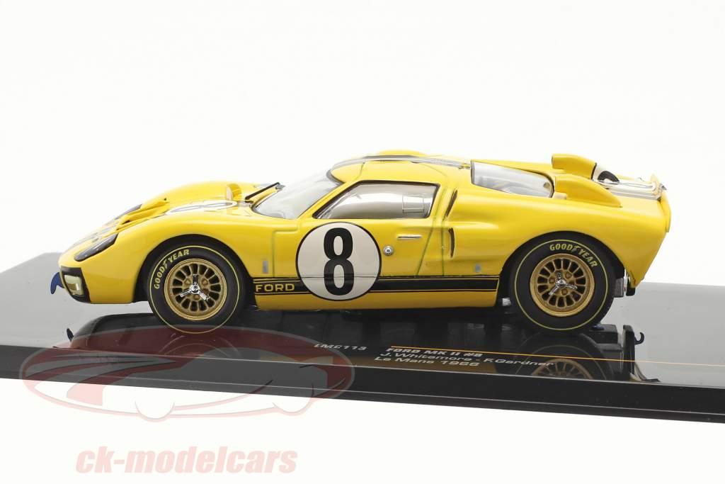 Ford GT40 Mk II N° 8 Gardner 24h Le Mans 1966 Whitemore, Gardner 1:43 IXO