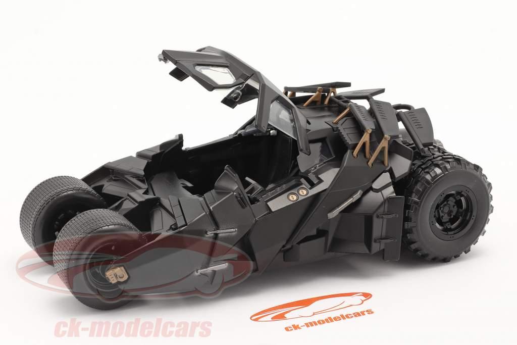 Batmobile Movie The Dark Knight (2008) black 1:24 Jada Toys