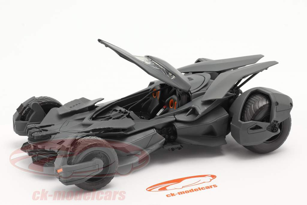 Batmobile Filme Batman v Superman Dawn Of Justice (2016) Preto 1:24 Jada Toys