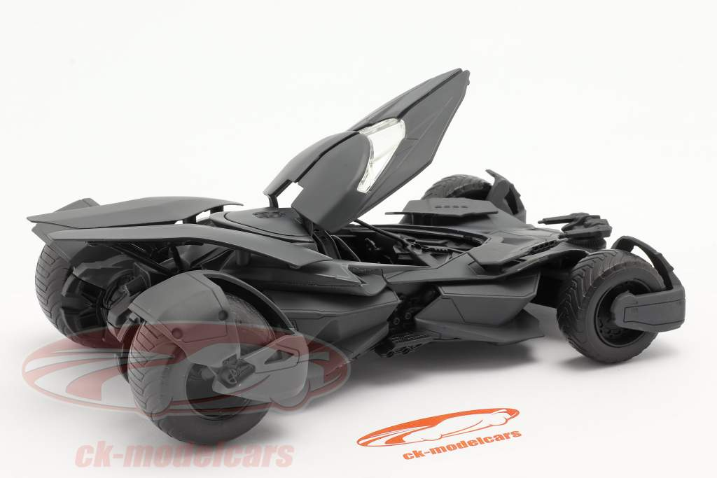 Batmobile Película Batman v Superman Dawn Of Justice (2016) negro 1:24 Jada Toys