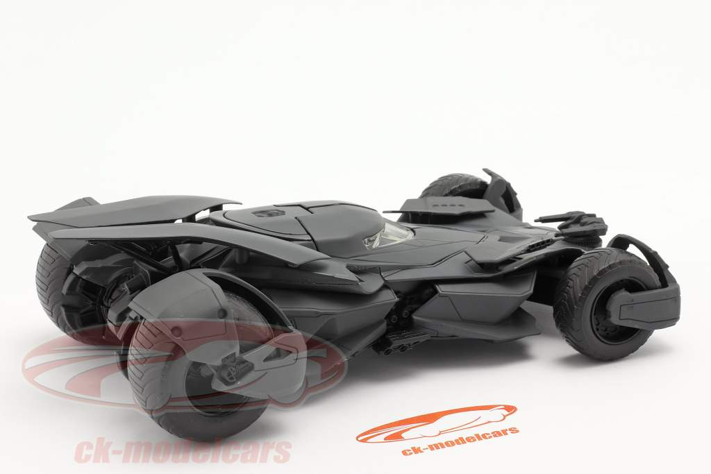 Batmobile Film Batman v Superman Dawn Of Justice (2016) nero 1:24 Jada Toys