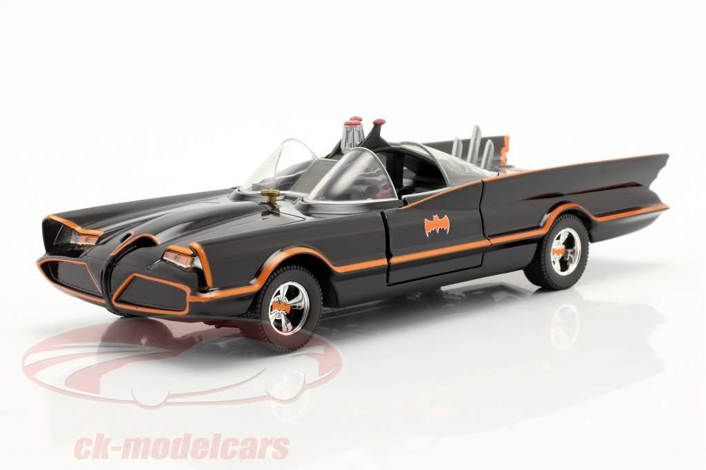Batmóvel Clássico televisão Series Batman (1966) Preto 1:24 Jada Toys