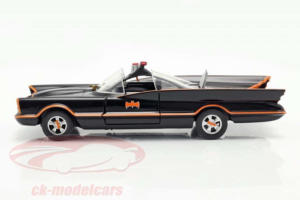 Batmobile Classique la télé Séries Batman (1966) noir 1:24 Jada Toys