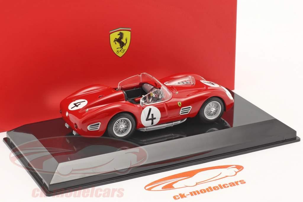 Ferrari 250 TR #4 2. plads 1000km Nürburgring 1959 Hill, Gendebien 1:43 Bburago