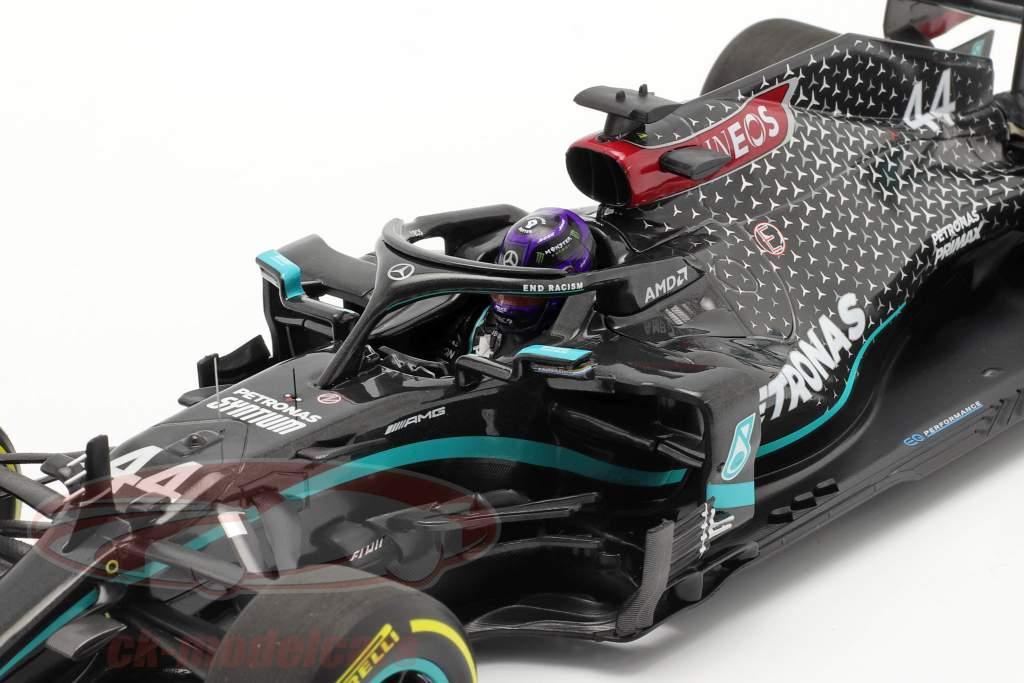 L. Hamilton Mercedes-AMG F1 W11 #44 gagnant Styrien GP formule 1 Champion du monde 2020 1:18 Minichamps