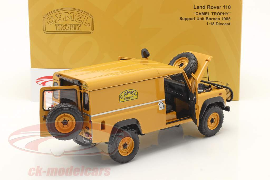 Land Rover 110 Support Unit Camel Trophy Borneo 1985 1:18 Almost Real