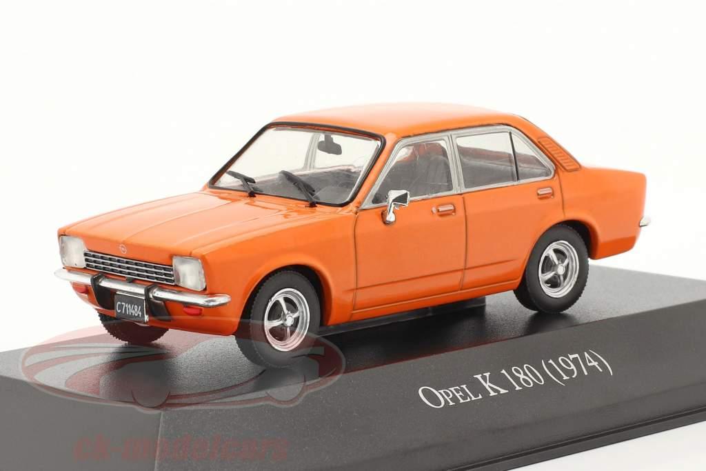 Opel K 180 4-door year 1974 orange 1:43 Altaya