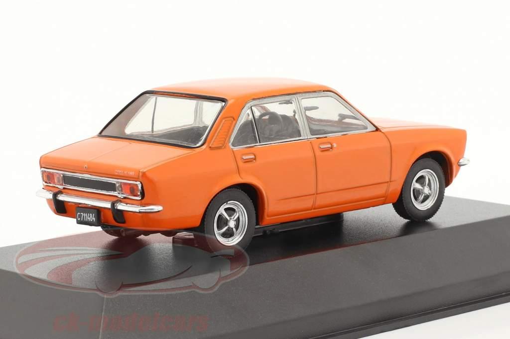 Opel K 180 4 portes Année de construction 1974 Orange 1:43 Altaya
