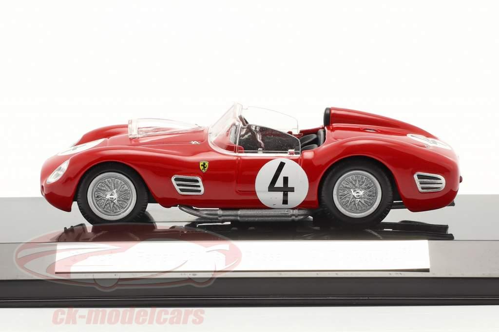 Ferrari 250 TR #4 2° 1000km Nürburgring 1959 Hill, Gendebien 1:43 Bburago