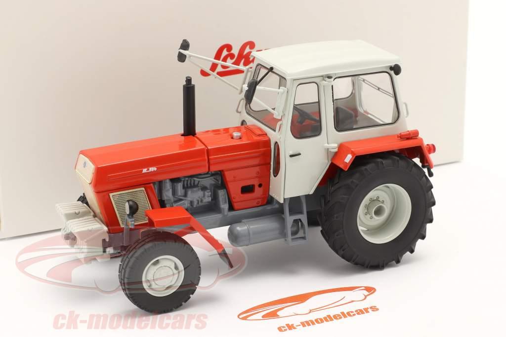 Fortschritt ZT 304 tracteur rouge / blanc 1:32 Schuco