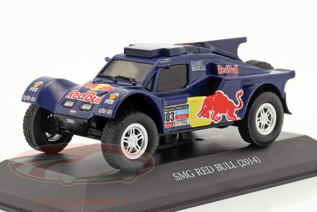 Red Bull SMG Buggy #303 Rallye Dakar 2014 Sainz, Gottschalk 1:43 Premium Collectibles