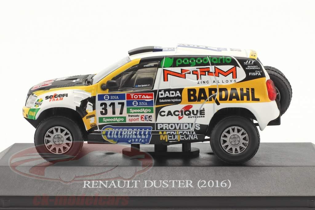 Renault Duster #317 Rallye Dakar 2016 Spataro, Lozada 1:43 Premium Collectibles