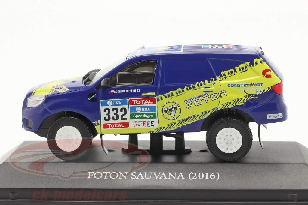 Foton Sauvana #332 Rallye Dakar 2016 Moreno, Araya 1:43 Premium Collectibles