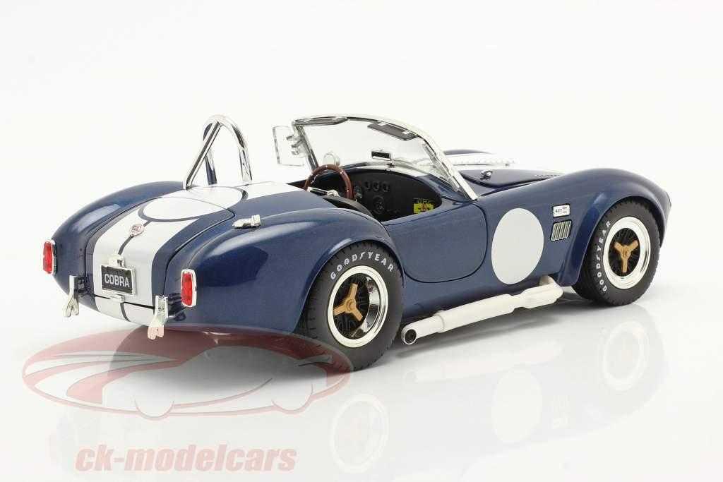 Shelby Cobra 427 S/C Anno di costruzione 1965 blu / bianca 1:18 ShelbyCollectibles