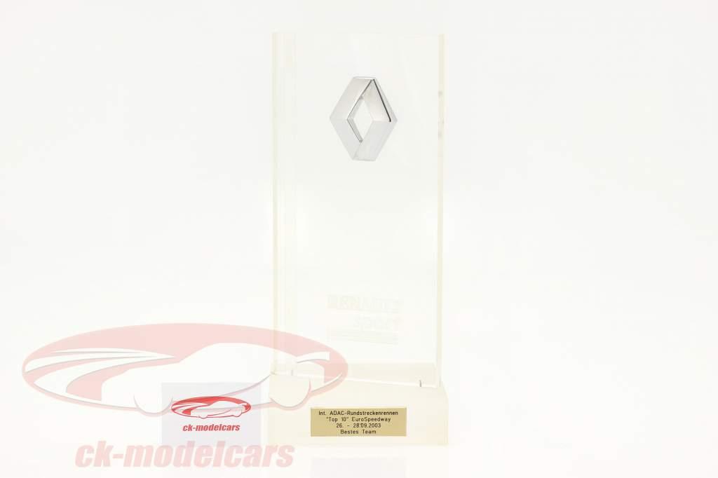 Glaspokal Sieger Teamwertung Westfalen-Preis Oschersleben Formel Renault 2.0 2003