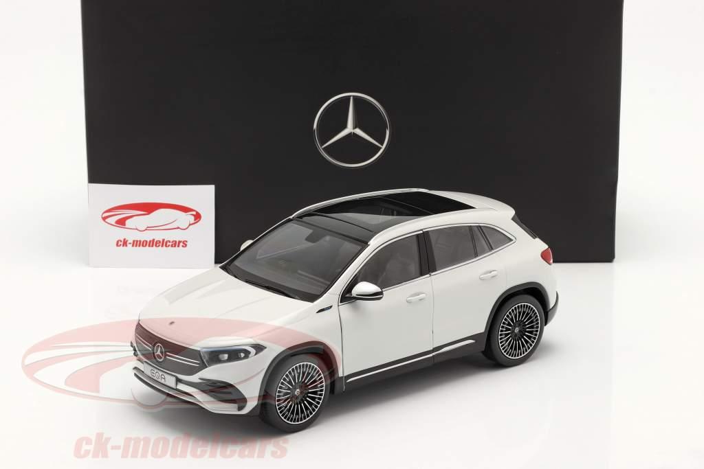 Mercedes-Benz EQA (H243) Baujahr 2021 digitalweiß 1:18 NZG