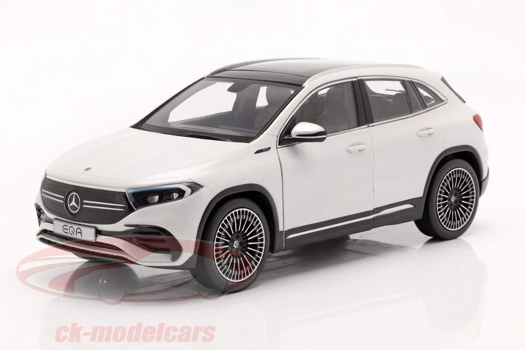 Mercedes-Benz EQA (H243) Byggeår 2021 digital hvid 1:18 NZG