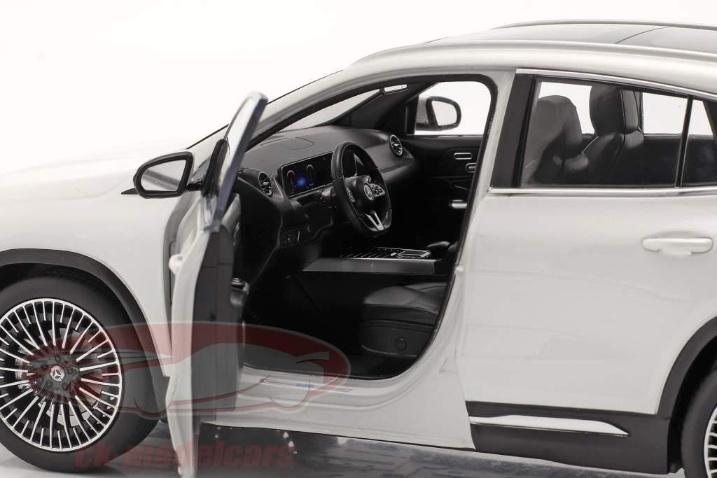 Mercedes-Benz EQA (H243) Anno di costruzione 2021 digital bianca 1:18 NZG