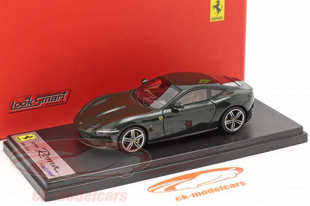 Ferrari Roma bouwjaar 2020 abetone groen 1:43 LookSmart