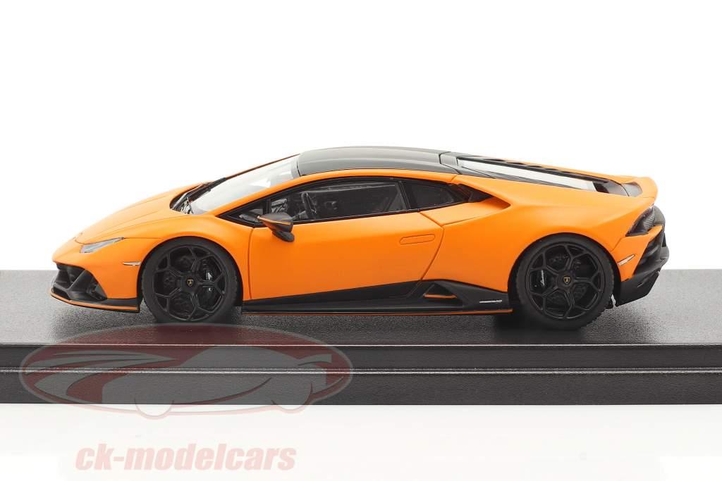 Lamborghini Huracan Evo Fluo Capsule 2020 estera naranja 1:43 LookSmart