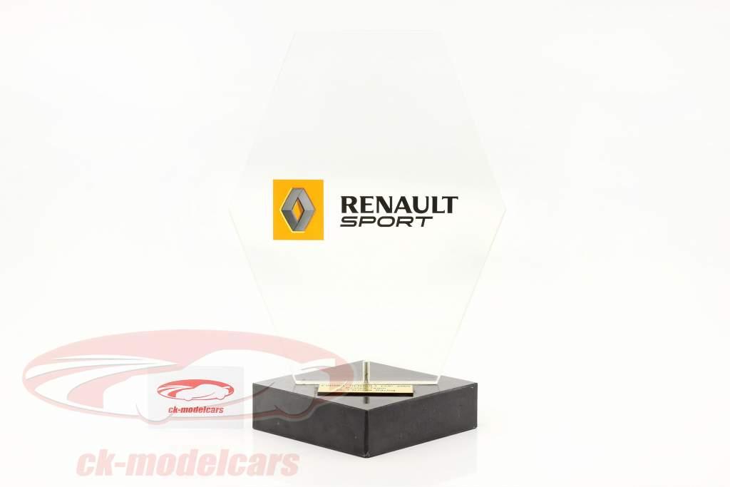 Troféu vencedora Classificação da equipe Fórmula Renault 2.0 2005 SL Formula Racing